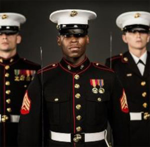 Marines in Uniform