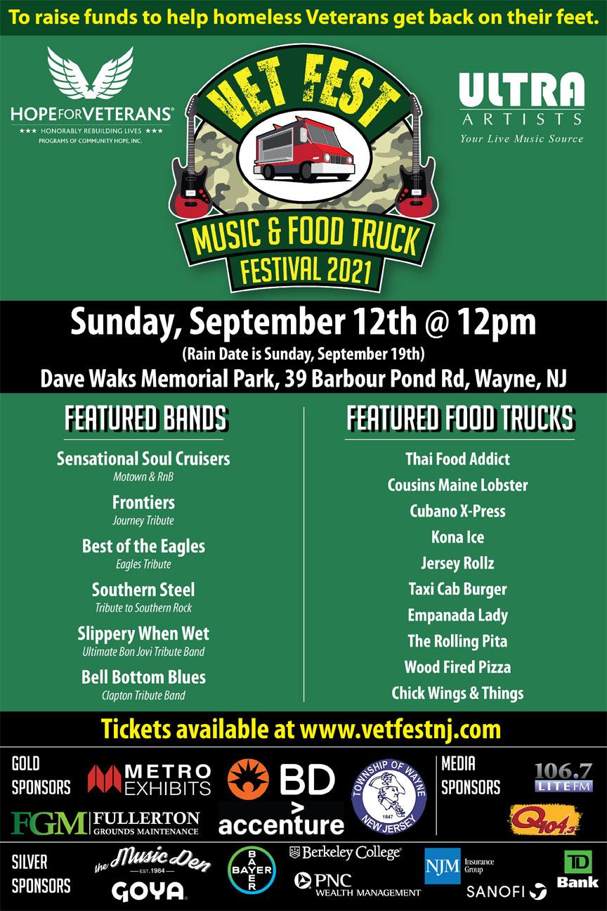 Vet Fest Music & Food Truck Festival
