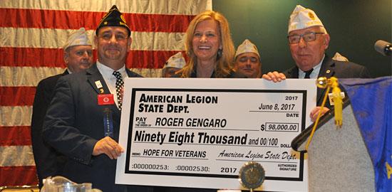 American Legion Raises $98,000 for Community Hope's Veterans Programs